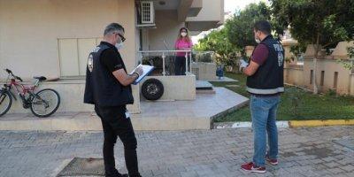 Antalya Emniyeti Kovid-19 Denetimi Gerçekleştirdi