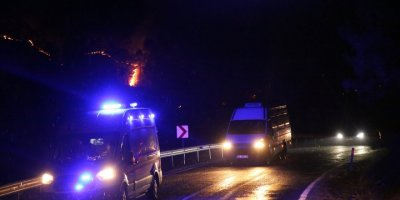 Mersin'de Çıkan Orman Yangınına Müdahale Ediliyor
