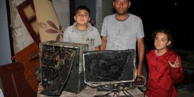 Mersin'de Çıkan Yangın Onu Eğitimden Kopardı