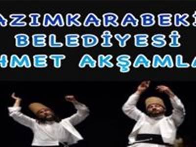 Kazımkarabekir'de Rahmet Akşamları Programı