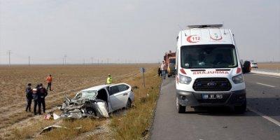 Konya Aksaray Yolundaki Kazada Bir Kişi Hayatını Kaybetti