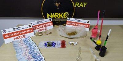 Aksaray'da Uyuşturucuyu Koltuk Değneği İçine Gizlerken Hesap Edemedikleri Oldu