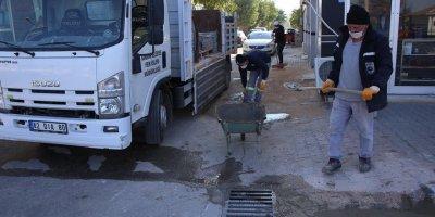 Karaman Belediyesi'nin Kırbağı Çalışmaları