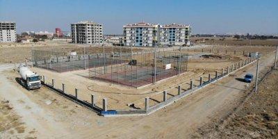 Yenişehir'e Karaman İçin Önemli Sosyal Alan Yapılıyor