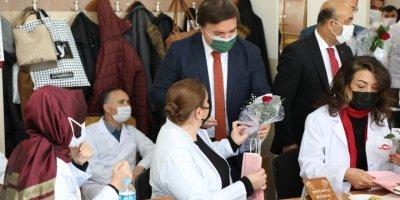 Lösemi Tedavisi Gören Gülgün Öğretmene Aksaray Valisi Aydoğdu'dan Moral Telefonu