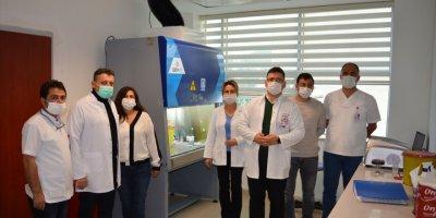Antalya'da Kamudaki 5. Pcr Laboratuvarı Açıldı