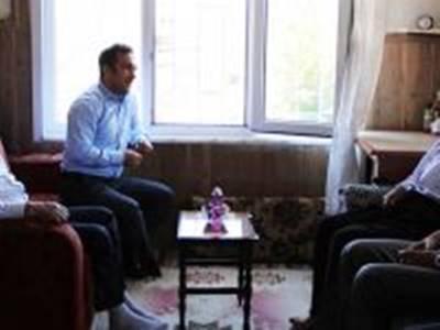Başyayla'da Şehit Aileleri Ziyaret Edildi