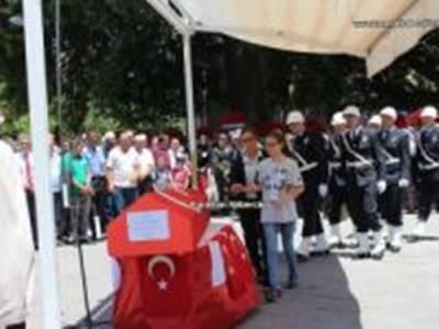 Karamanlı Şehit Polis Erkan Kurşun'a Son Görev