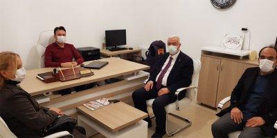 AK Parti Karaman İl Teşkilatından Karaman Habercisi'ne Ziyaret