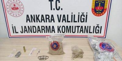 Ankara'da Uyuşturucu Ticareti Yaptıkları İddia Edilen 2 Kişi Tutuklandı