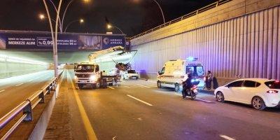 Ankara'da Motosiklet Kazası: 2 Yaralı