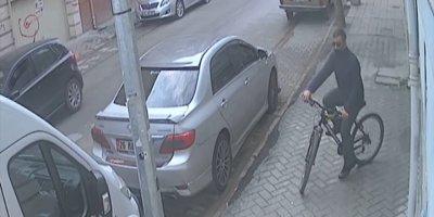 Eskişehir'de Hırsızlık anları güvenlik kameralarınca kaydedildi