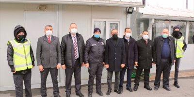 Eskişehir'de Bbp'li Akdoğan Ve Ulupınar'dan Polis Noktalarına Ziyaret