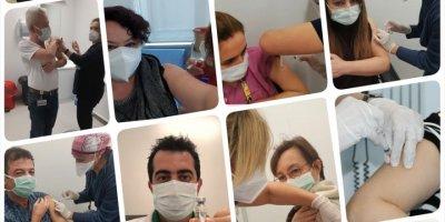 """Mersin Şehir Eğitim Ve Araştırma Hastanesi """"Aşı Zinciri"""" Kampanyası Başlattı"""