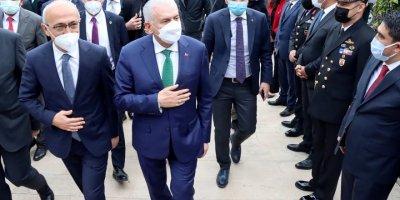 Hazine Ve Maliye Bakanı Lütfi Elvan'dan, Mersin Valisi Ali İhsan Su'ya Ziyaret