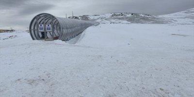 Ketençimen Kayak Merkezinin İlk Etabının Yüzde 95'i Tamamlandı