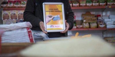 """Mersin'de İhtiyaç Sahibi 12 Bin 222 Kişiye """"Halk Kart"""" Dağıtıldı"""