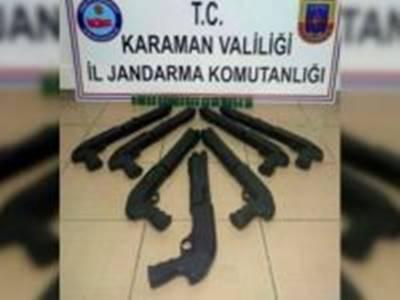 Karaman'da, Ruhsatsız Av Tüfeği Operasyonu