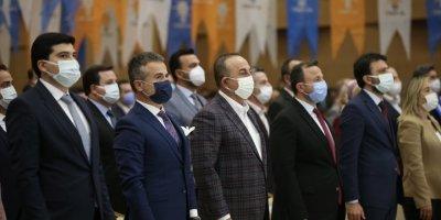 Dışişleri Bakanı Çavuşoğlu, Ak Parti Antalya İl Gençlik Kolları 6. Olağan Kongresine Katıldı
