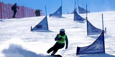Kayseri'de Düzenlenen Snowboard 2. Etap Yarışları Tamamlandı