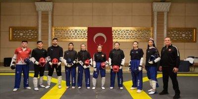Tekvando Federasyonu Başkanı Şahin, Olimpiyatlarda Sporcularının Başarılı Olacağına İnanıyor: