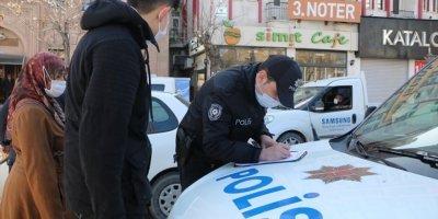 Aksaray'da Kurallara Uymayanlara Ceza Yağdı