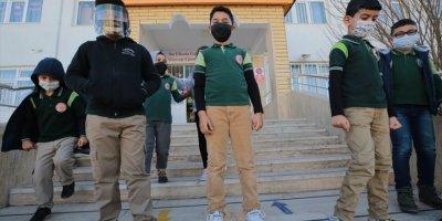 Aksaray'da Öğrencilerin Okul Heyecanı