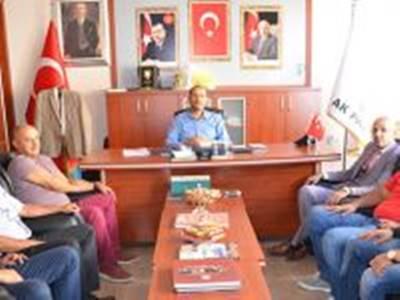 Başkan Yılmaz, Karaman AK Parti İl Başkanı Er'i Ziyaret Etti
