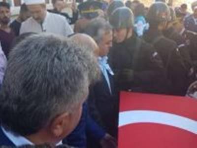 Şehit Jandarma Uzman Onbaşı Mehmet Kızılca Güneyyurt'ta Defnedildi