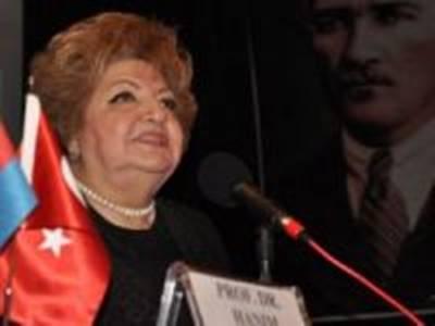 """Prof. Dr. Haliova Karaman'da """"Türk Dünyası""""nı konuşacak"""