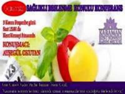 Sağlıklı Beslenme Konulu Konferansa Davet