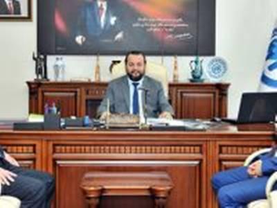 Bozok Üniversitesi Rektör Yardımcısından Rektör Akgül'e Ziyaret