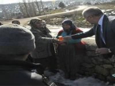 Vali Meral Köy Gezilerinde