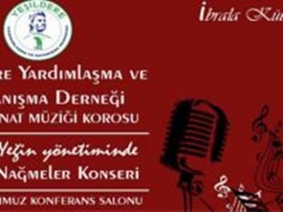 Yeşildere Derneğinden Türk Sanat Müziği Konseri