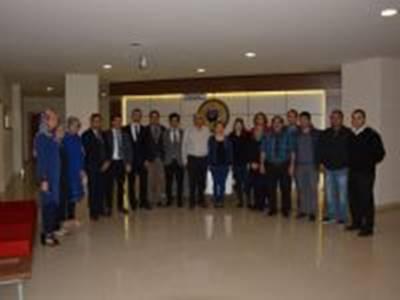 KTSO Başkanı Mustafa Toktay Oda Personeli İle Vedalaştı