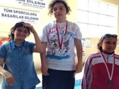 Karamanlı Özel Sporculardan Yüzme'de Türkiye Derecesi
