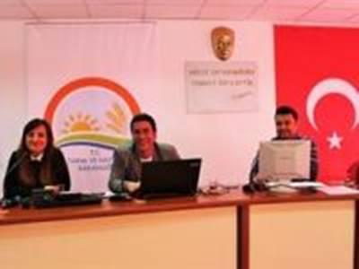 Çevre Amaçlı Tarım Arazilerini Koruma(ÇATAK) Programı Eğitim Çalışmaları Devam Ediyor