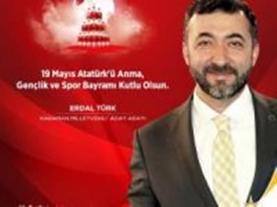 Erdal Türk 19 Mayıs Mesajı
