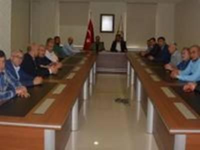 MHP Heyeti'nden Karaman Ticaret ve Sanayi Odası'na Ziyaret