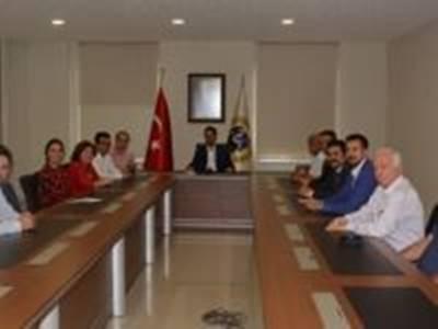 CHP Heyeti'nden Karaman Ticaret ve Sanayi Odası'na Ziyaret
