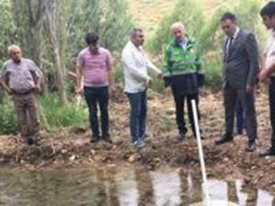 Yeşildere Ve Taşkale'deki İçme Suyu Hattı Yenileme Çalışmaları Yerinde İncelendi