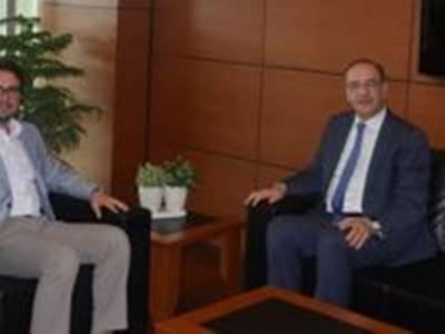 Konya Sanayi Odası Meclis Başkanı Tahir Büyükhelvacigil´Den Başkan Alkan´a Ziyaret