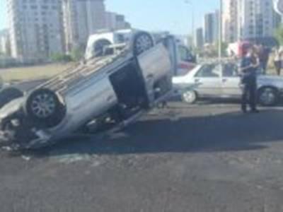 Kayseri'de Trafik Kazası