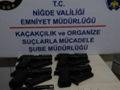 Konya'dan Niğde'ye Silah Kaçakçılığına Operasyon