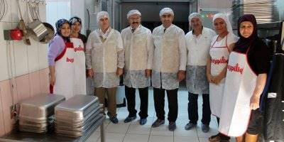 Karaman'da Müdürlerin Kantin ve Yemekhane Denetimleri