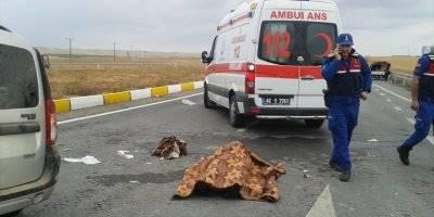 Konya'da Trafik Canavarı Can Aldı