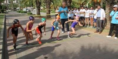 Antalya'da Modern Pentatlon Federasyonu Biathle-triathle Türkiye Şampiyonası