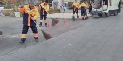 Niğde Belediyesi'nden Temizlik Çalışması