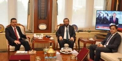 Rektör Akgül'den , Sayıştay Başkanına Nezaket Ziyareti