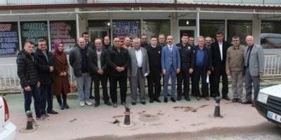 Karaman Kazımkarabekir İlçesinin Kaymakamı Köy ve Mahalle Muhtarları Bir Araya Geldi